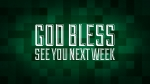 Christmas Pixels - Green: God Bless - See You Next Week