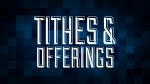 Christmas Pixels - Blue: Tithes & Offerings