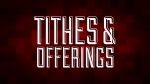 Christmas Pixels - Red: Tithes & Offerings