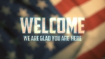 Waving Flag: Welcome