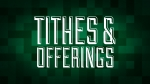 Christmas Pixels - Green: Tithes & Offerings